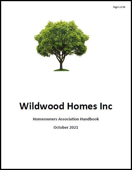 Wildwood Handbook Cover